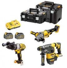 Tööriistakomplekt, DCK350, 18 / 54V 3 tööriista, DCK350T2T-QW, DEWALT