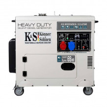 Dīzeļa ģenerators KS 9202HDES-1/3 ATSR Silent (EURO II) 230/400 V 7500 kW KONNER & SOHNEN