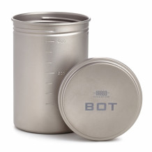 Katel/kruus Bottle Pot titanium R050085 VARGO