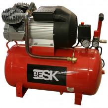 Kompressors 50l 410l/min 8bar 9099629 BESK
