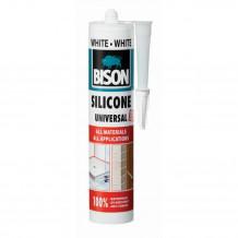 Silikons Universāls Silicone Universal balts 280ml 1591312 BISON