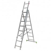 Kombinējamās kāpnes CLT3 3x9 pakāpieni 171309 CENTAURE