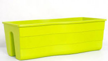 Balkona kaste Wave, 60cm zaļa, 4343358, FORM PLASTIC