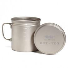 Katel Bottle Pot titanium 050009 VARGO
