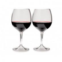 Punase veiniklaasi komplekt Nesting Red Wine Glass Set