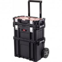 Ratastel tööriistakast Connect Rolling Work Shop Set 56,5x37,3x70cm 30203038 KETER