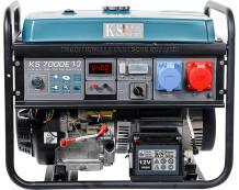 Benzīna ģenerators KS 7000E 1/3 230-400 V 5000-5500 kW KONNER & SOHNEN