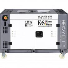 Dīzeļa ģenerators KS 14-2DE ATSR 11000W KONNER & SOHNEN