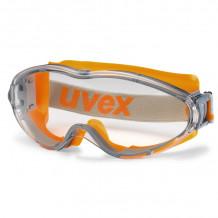 Kaitseprillid U-Sonic, läbipaistvad klaasid, hall/oranš Uvex