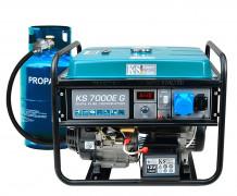 Benzīna / gāzes ģenerators KS 7000E G 5000W KONNER & SOHNEN