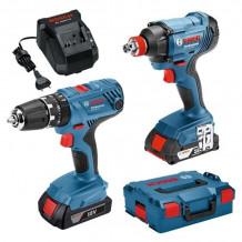 Tööriistakomplekt GDX18V180 GSR18 06019G5203 BOSCH