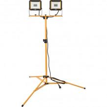 Prožektor LED, statiiv JARO 220V IP65 2x30W 5860lm 1171250634 & BRE Brennenstuhl