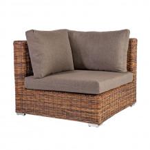 Moduļu dīvāns CROCO ar spilveniem 93x93xH73cm, 29540, HOME4YOU