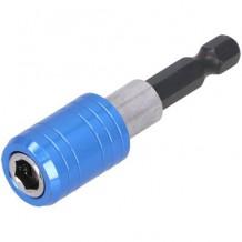 """Otsiku hoidik 1/4"""" 60mm, magnetiga DRAUMET"""