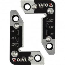 Magnēts metināšanai 4.5x2.5cm, 8.4x5.4cm (2gab) YATO