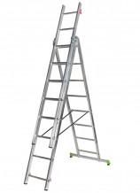 Kombinējamās kāpnes CLT3 3x8 pakāpieni 171308 CENTAURE
