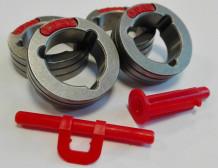 Padeves ruļļu komplekts 1.0-1.2mm (PowerTec iXXXC, PF52/56), KP14150-V10/12&LE Lincoln Electric