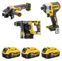 Tööriistakomplekt, DCK305, 18V, 3 tööriista, DCK305P3T-QW, DEWALT