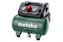 Kompressor, BASIC 160-6 W OF, 8Bar, 6L, 601501000, METABO
