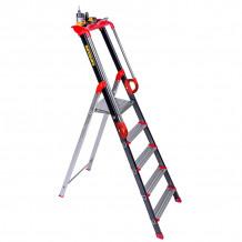 Kāpnes ar platformu un rokturiem PRO'UP 8 pakāpieni 239208 CENTAURE
