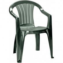 Dārza krēsls Sicilia tumši zaļš 29180048717 KETER