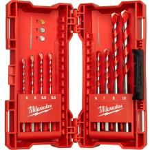 Puurikomplekt betoonile Premium 4mm - 12mm (8tk.) MILWAUKEE