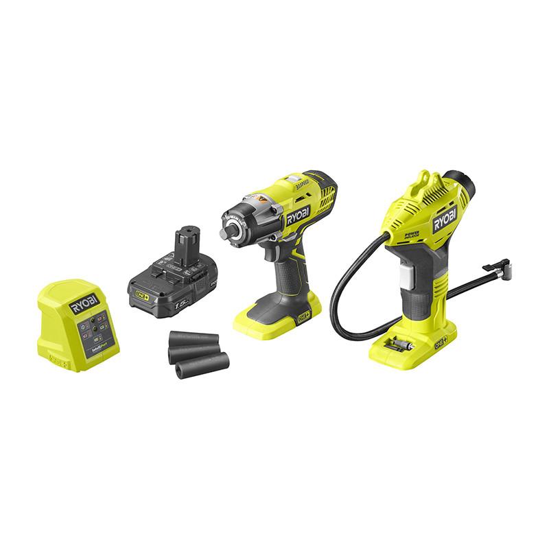Tööriistakomplekt R18IWPI-115G 5133004769 RYOBI