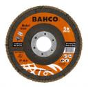 Kroonlehine lihvketas INOX + Fe P80 125x22,23mm 3926-125IM-C80 BAHCO