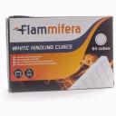 Cухой розжиг для костров мангалов печей и каминов, белый (64 шт.) Flammifera