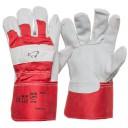 Перчатки замшевые плотные с двойным швом на подкладке размер 12