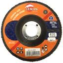 Slīpējamais disks lapiņu 125mm G80 Leman