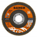 Kroonlehine lihvketas INOX + Fe P40 125x22,23mm 3926-125IM-C40 BAHCO