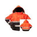 Kõrgnähtav jope, oranž XXXL FB-C465-XXXL