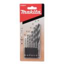 """1/4"""" puurikomplekt (puidule 2,3, 3, 4, 5, 6, 8mm) D-62371 MAKITA"""