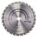 Zāģripa 315x30x3.2mm T28 Speedline Wood, 2608640682,  Bosch